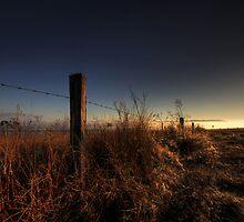 Foggy Sunrise by MarkusHoelzner