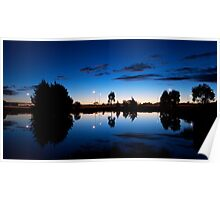 Evening Reflections Poster
