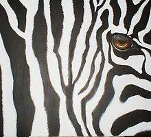Zebra's Eye II by Cherie Roe Dirksen