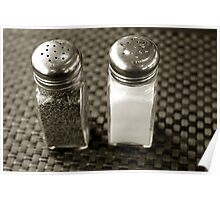 Salt & Pepper Poster