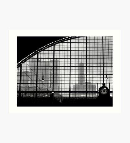 frankfurt station Art Print