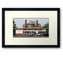 Empire State. Framed Print