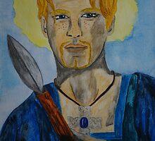 Saint Oswin of Deira by Rowan  Lewgalon