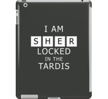 Sherlocked in the Tardis Slate iPad Case/Skin