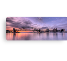 Lavender Blue - Moods Of A City -The HDR Experience Canvas Print