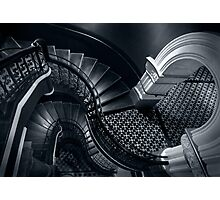 House of Curves (Monochrome) Photographic Print