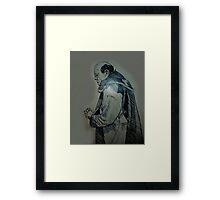 The Monk Framed Print