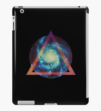 Space galaxy - triangle iPad Case/Skin