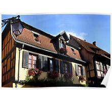 Idyllic Alsace Poster