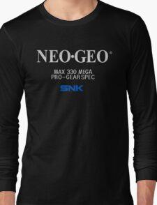 NEO GEO Screen Long Sleeve T-Shirt