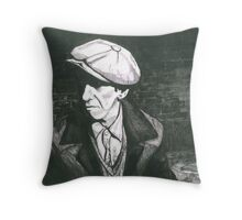 Johnny the Snitch Throw Pillow