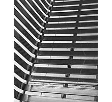 Linear Funtions or Straight curves in Balck & white Photographic Print