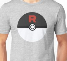 Team Rocket Poke Ball Unisex T-Shirt