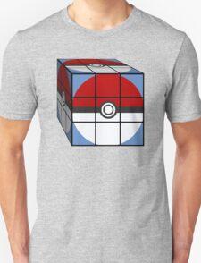Poke Ball Rubik's Cube Unisex T-Shirt