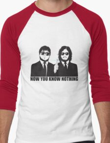 NOW YOU KNOW NOTHING Men's Baseball ¾ T-Shirt