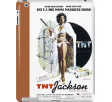 TNT Jackson (Brown) iPad Case/Skin