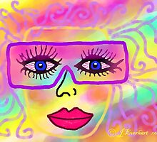 Rose Colored Glasses by Julie Everhart