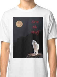 Save The Wolf Classic T-Shirt