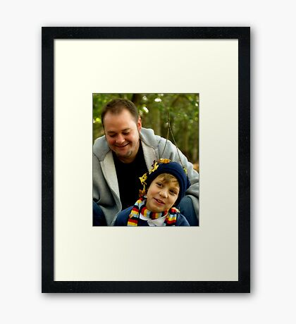 Silly-ness Framed Print
