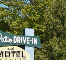 The Patio DRIVE-IN and MOTEL Sticker