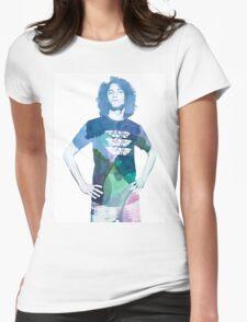 Danny Avidan - Watercolor Womens Fitted T-Shirt