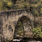 Bridge, Donside Aberdeesnhire by Mark Mair