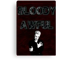 Spike the Bloody Awful Canvas Print