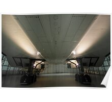 Concorde ...a study in symmetry . Poster
