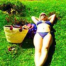 Sunbathing by Gary Freeman