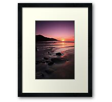 Kerry Sunset Framed Print