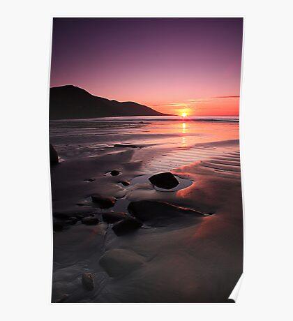 Kerry Sunset Poster