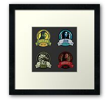 Brownstone Brewery: Elementary Set #1 Framed Print