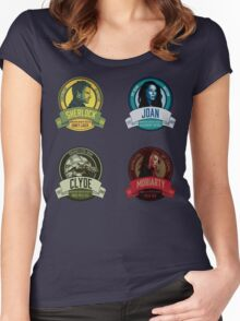 Brownstone Brewery: Elementary Set #1 Women's Fitted Scoop T-Shirt