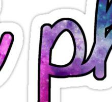 Pi Phi Galaxy Sticker
