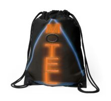 Motel Neon Drawstring Bag