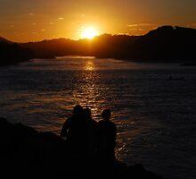 Watching the sunset by Joshdbaker
