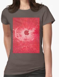 RED BULLET HOLE SMARTPHONE CASE (Graffiti) Womens Fitted T-Shirt