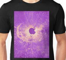 PURPLE BULLET HOLE SMARTPHONE CASE (Graffiti) Unisex T-Shirt