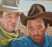 Duke and Mitch by Gerard Bahon