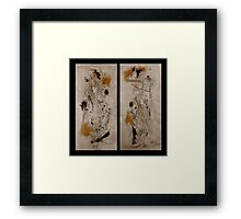 Righteous Judgment The Diptych Framed Print