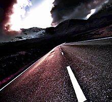 Road to the rainbow by Chaharra Gilman