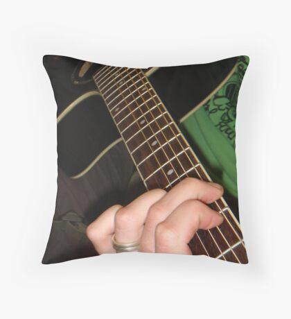 Finger Fun Throw Pillow