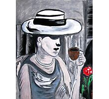 Mystery Lady............ Photographic Print