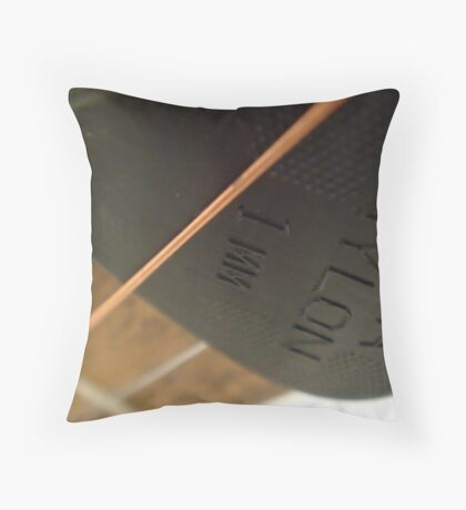 Solo Plectrum  Throw Pillow
