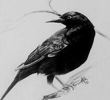 Raven  by blubrdyfree