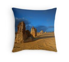 Stand and Deliver, Nambung NP, WA Throw Pillow