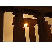 Acropolis-enlisted Photographic Print