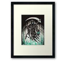 Green Reaper Framed Print