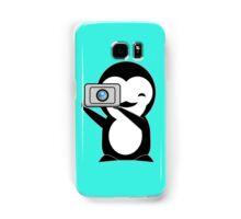 Penguin photo  Samsung Galaxy Case/Skin