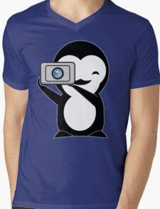 Penguin photo  Mens V-Neck T-Shirt